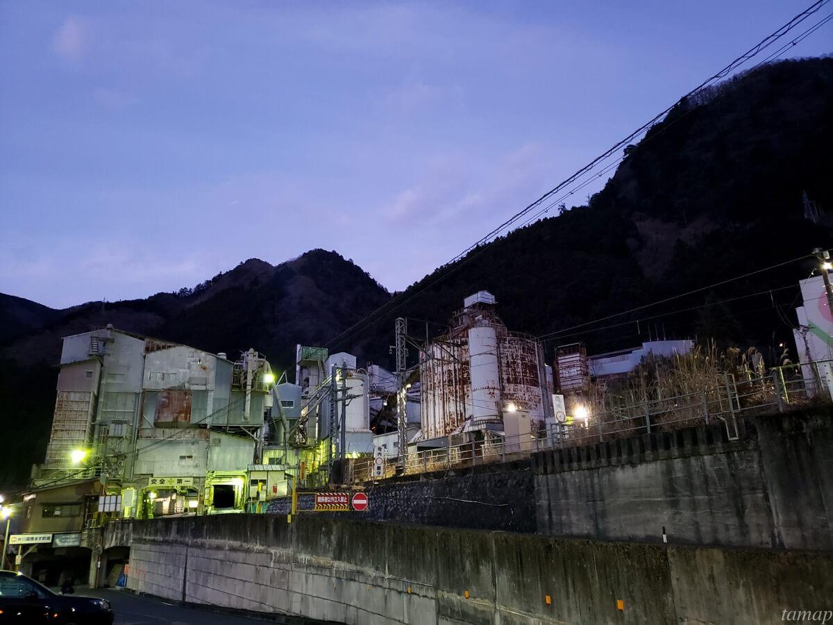 奥多摩工業 氷川工場