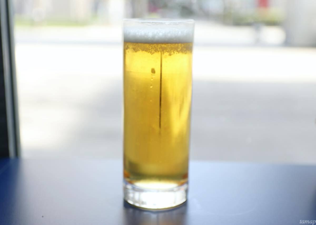 シネマカフェのビール
