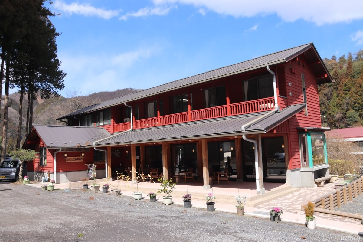 Cafe&Restaurant「SAKA」の外観