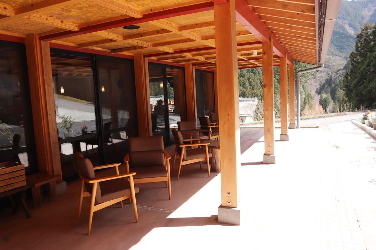 Cafe&Restaurant「SAKA」のオープンテラス