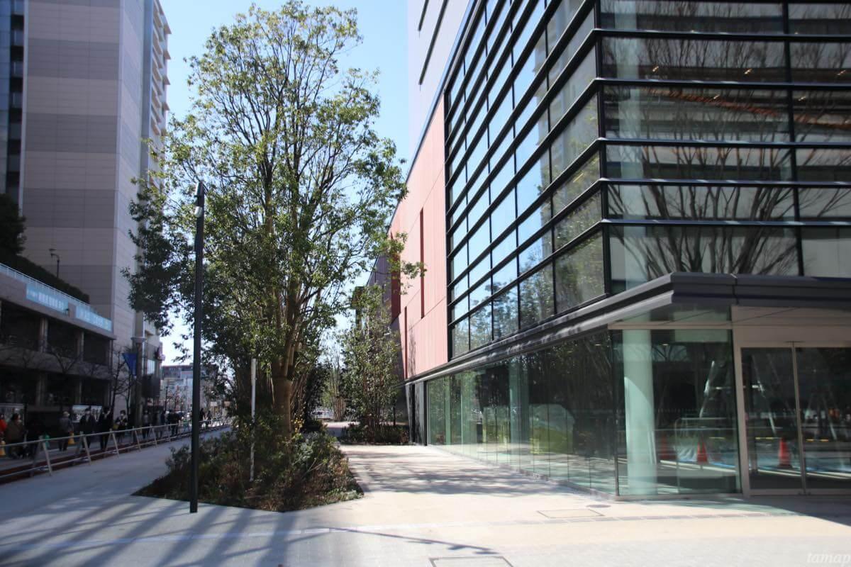 オープン間近!JR立川駅北口再開発「GREEN SPRINGS」2020年3月下旬の建設状況
