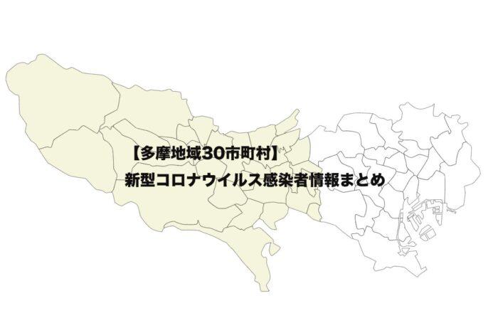 多摩地域の地図