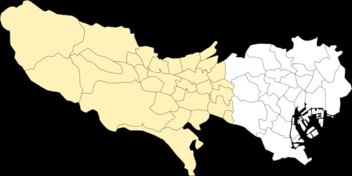 東京都多摩エリアマップ