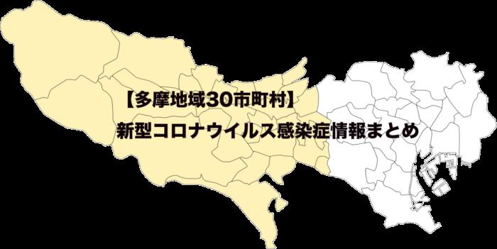 多摩地域30市町村別新型コロナウイルス感染症情報まとめ