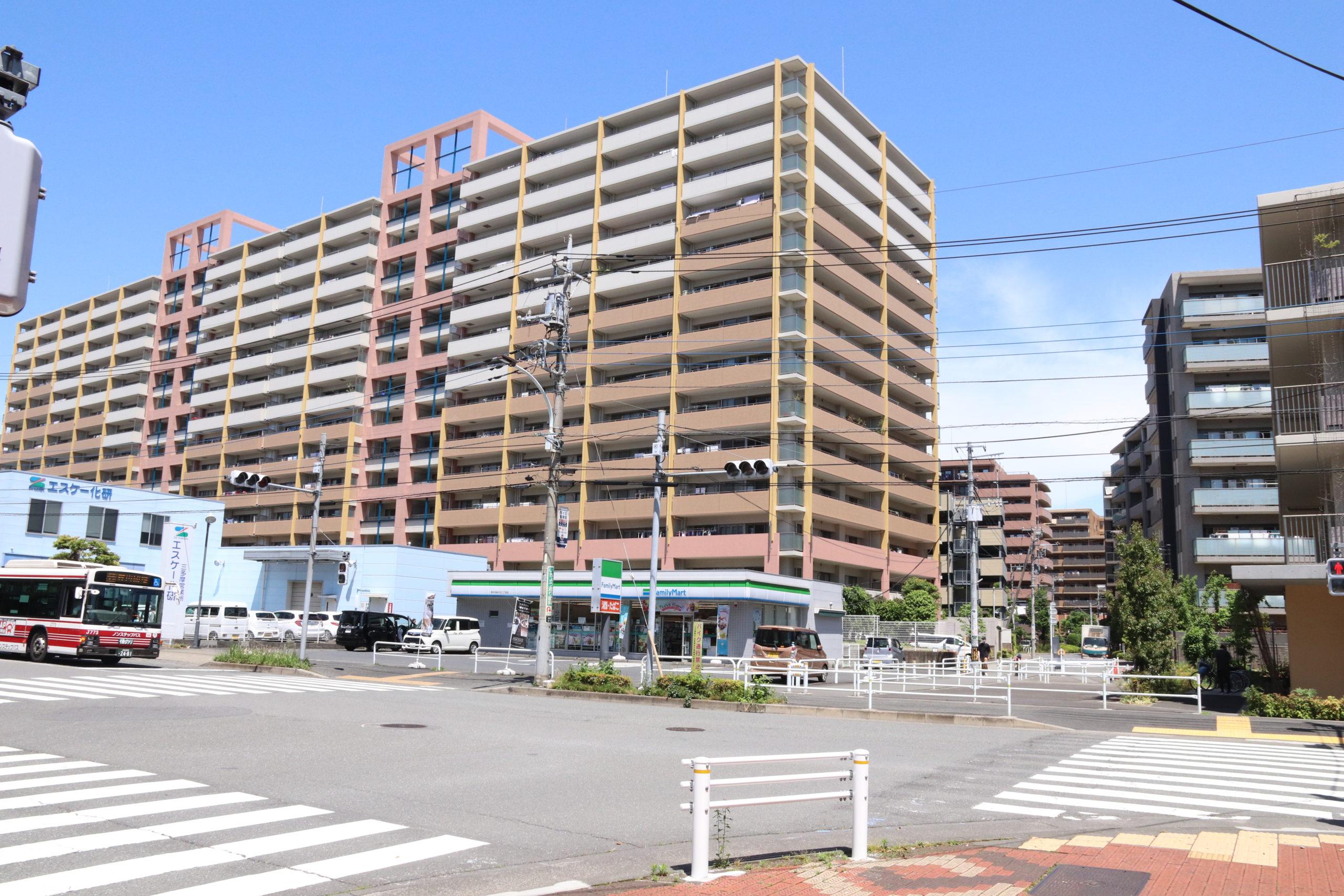 玉川上水駅前のマンション