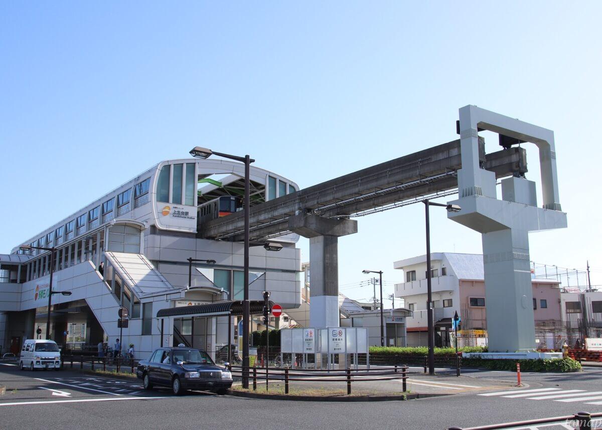 多摩モノレール上北台駅