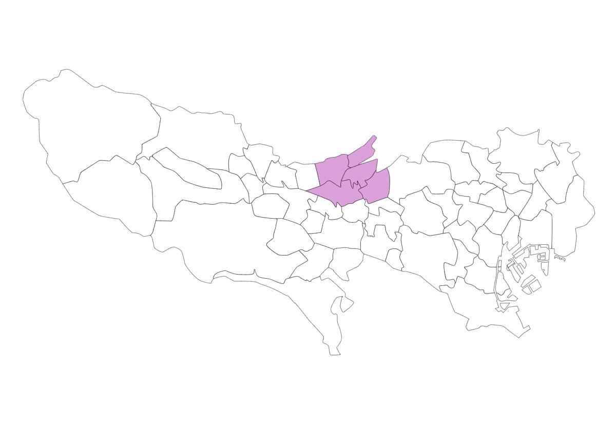 北多摩北部エリア