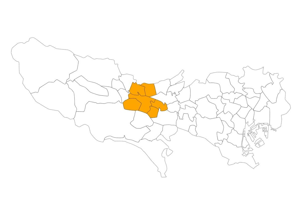 北多摩西部エリア