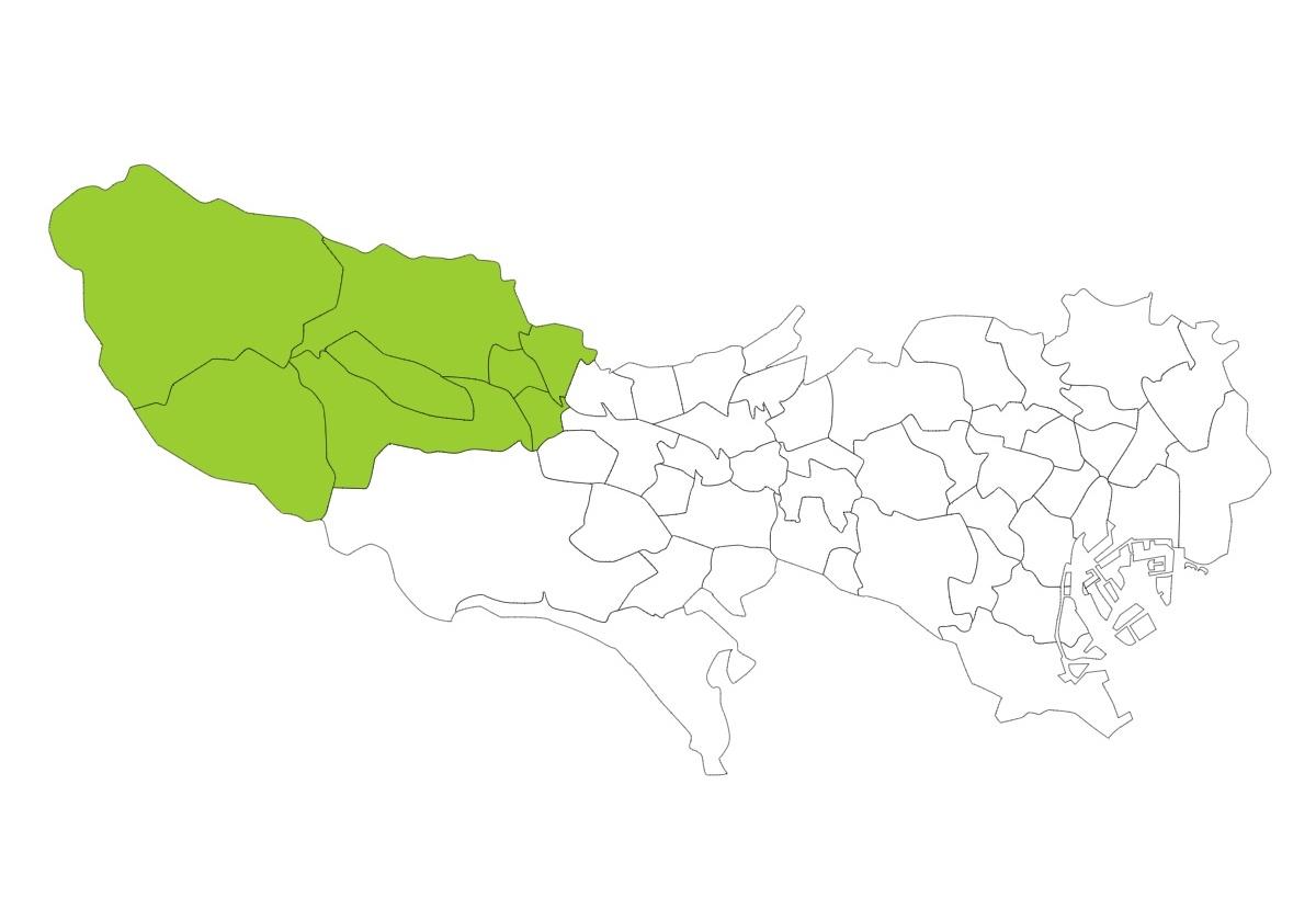 西多摩エリア