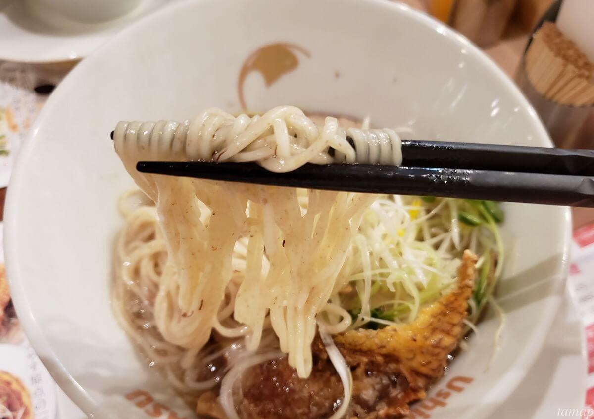 でんやすの麺