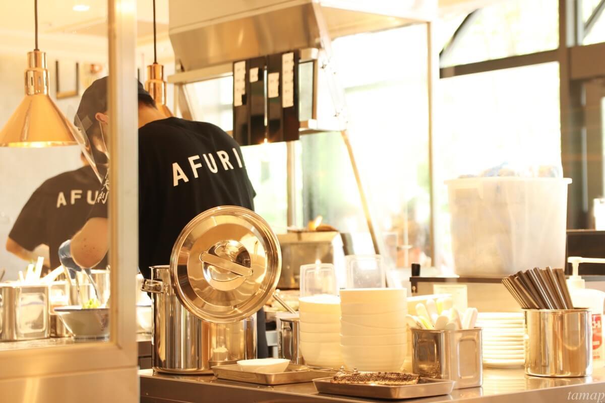 AFURIの厨房