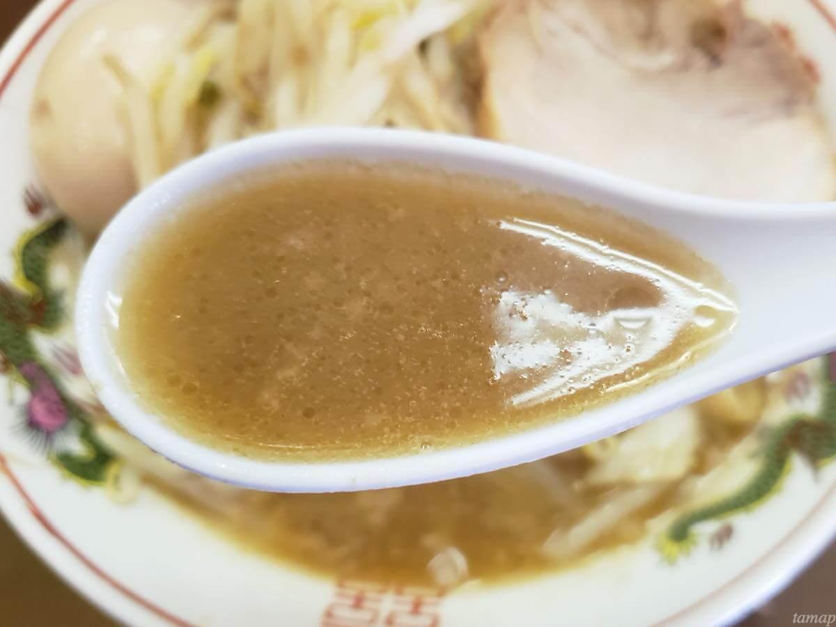自家製麺まさきのスープ