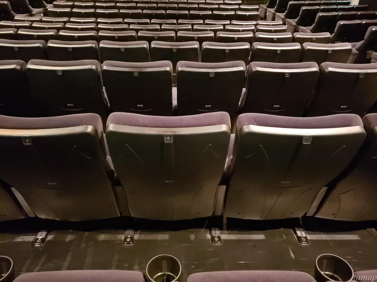 シネマシティの座席