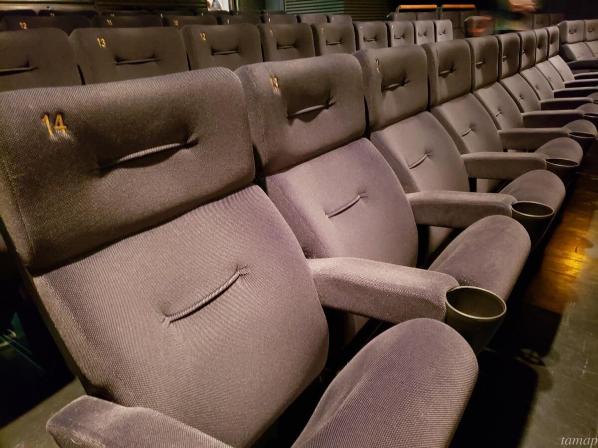立川シネマシティに映画を見に行き、新型コロナウイルス感染防止策が取られているか確認してきた