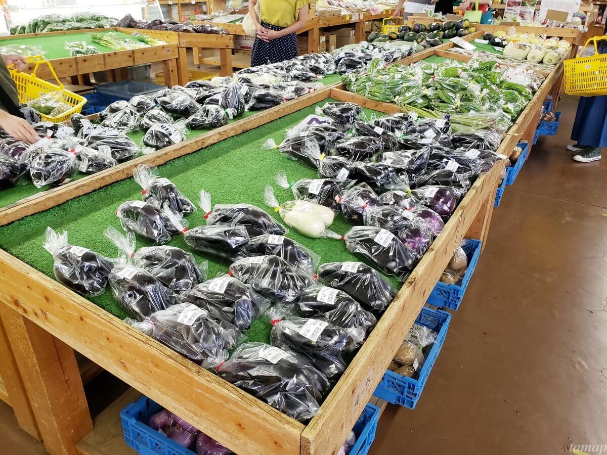 秋川ファーマーズセンターの野菜
