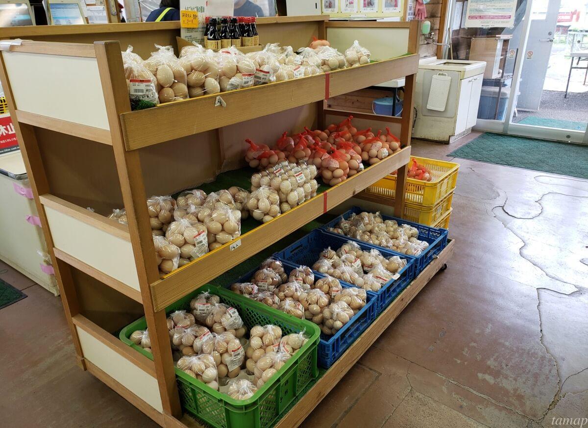秋川ファーマーズセンターの卵