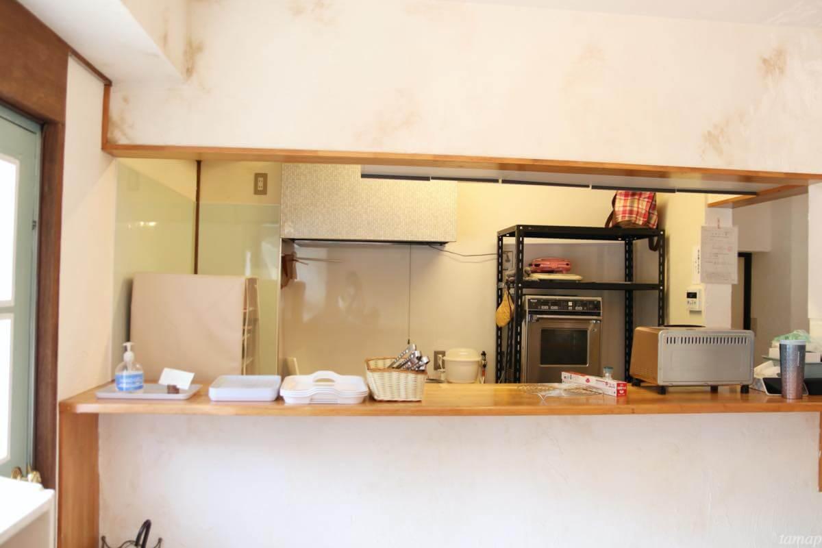 ベーカリー・レターのキッチン
