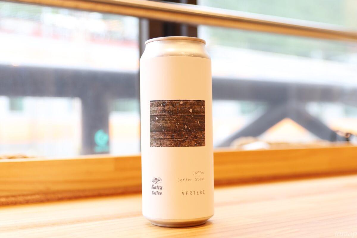 コーヒービールの缶